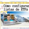 Cómo pasar un screener a una lista completa de ETFs