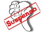suspenso