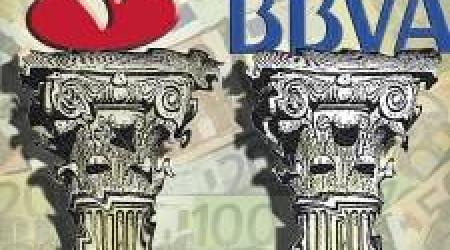 Variety of euro bank notes