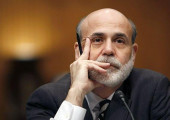 File photo of Fed Chairman Bernanke testifying on Capitol HIll in Washington
