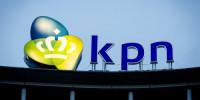 DEN HAAG - Het logo op het hoofdkantoor van KPN. ANP ROBIN VAN LONKHUIJSEN